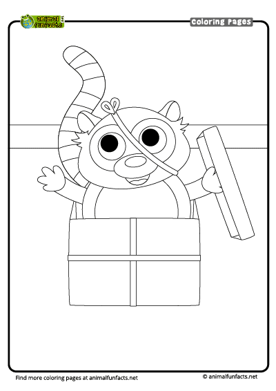 Madagascar 2 : mort and maurice, the lemur coloring pages ... | 566x400