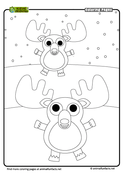 Moose n keeper Coloring Page - Free Mouse Coloring Pages ...   566x400