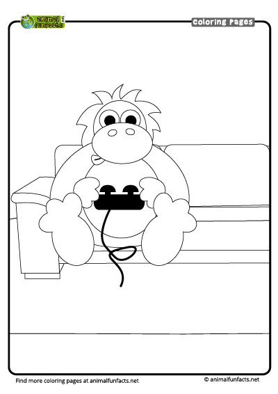 Orangutan | Free Printable Templates & Coloring Pages ... | 566x400