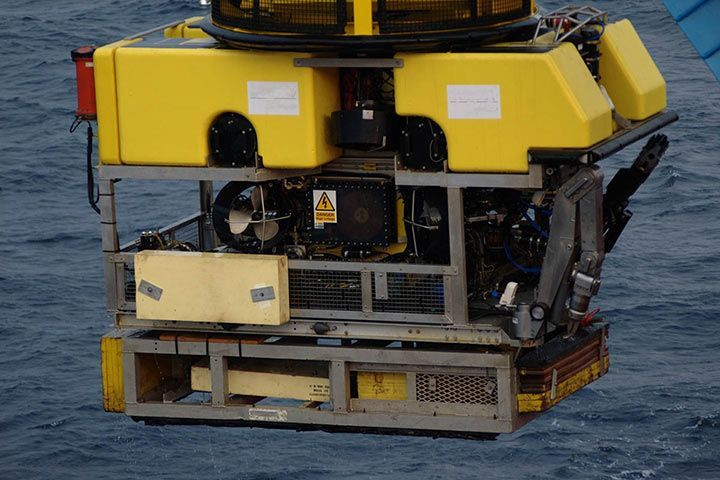 Deep Sea Remotely Operated Vehicle